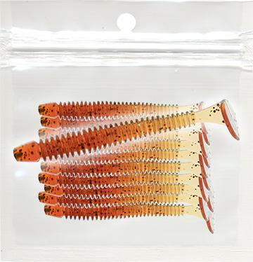 OURA-KOUNAO™ 1.75 inch Swim Baits Red Hydraulic Fluid/glitter