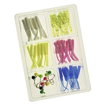 60 and 115 piece INSTINCTRIX® 1.65 inch Jig Kits